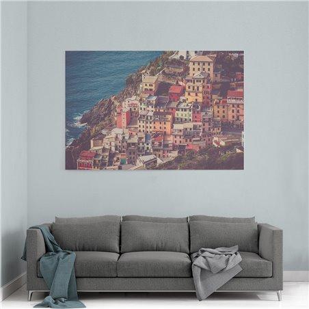 Riomaggiore İtalya Kanvas Tablo
