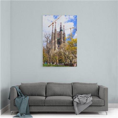Sagrada Familia Barcelona Kanvas Tablo