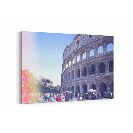 Kolezyum Roma İtalya Kanvas Tablo