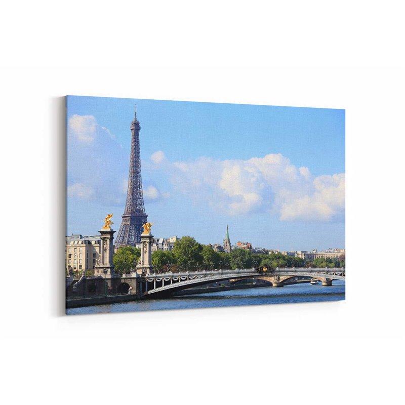 Paris Fransa  Kanvas Tablo