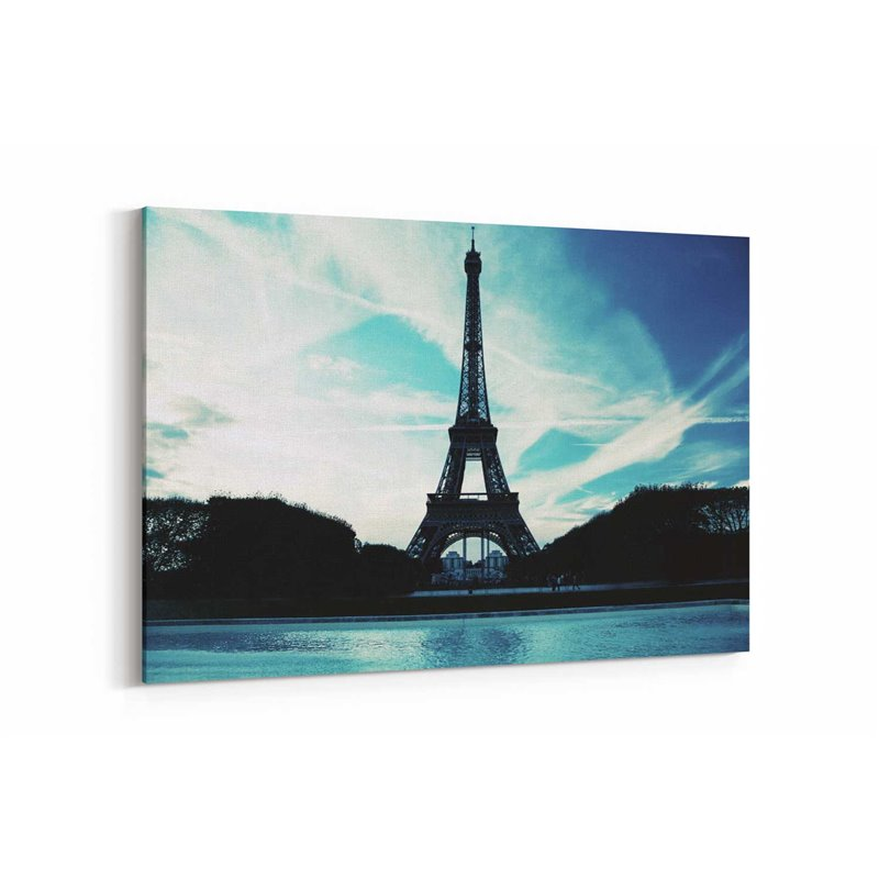Eifell Paris Kanvas Tablo