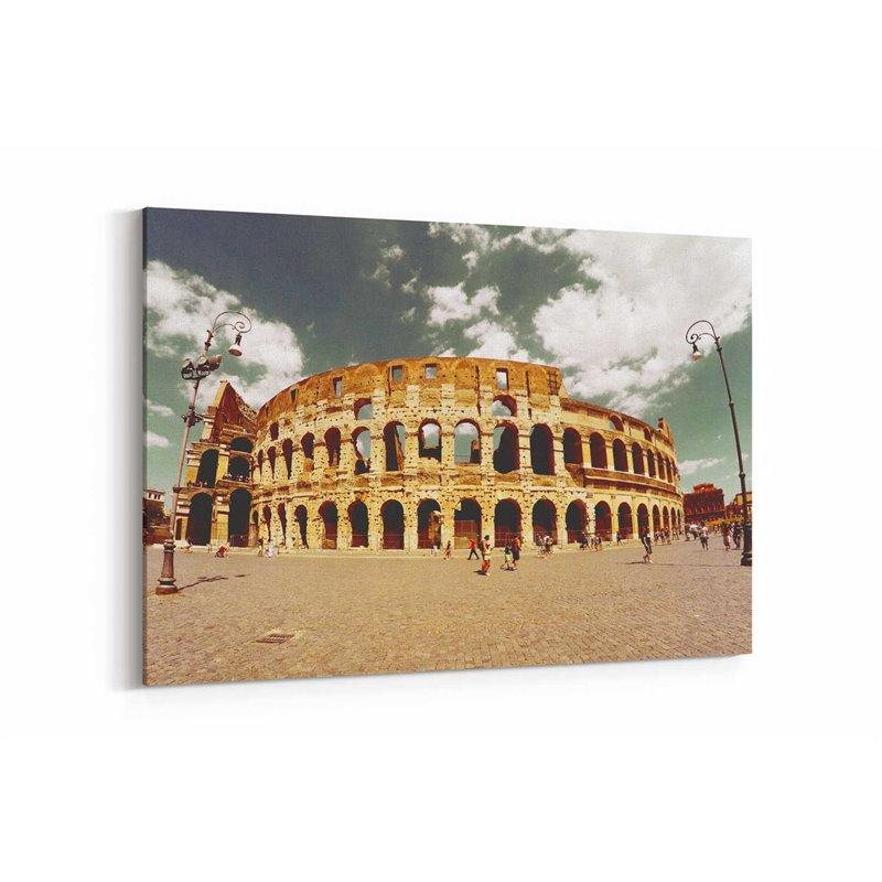 Colosseum Roma Kanvas Tablo