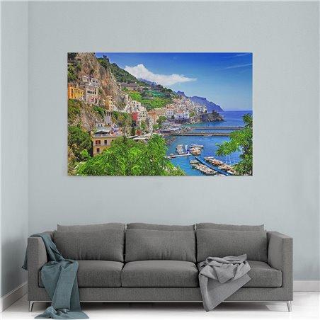 Amalfi İtalya Kanvas Tablo