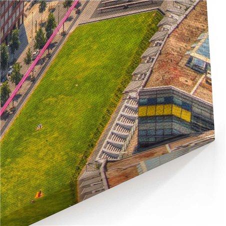 Newyork Görünüm Kanvas Tablo