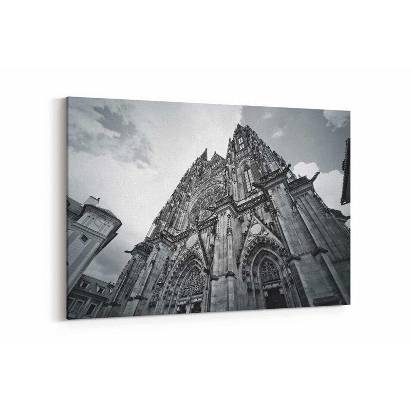 Katedral Prag Kanvas Tablo