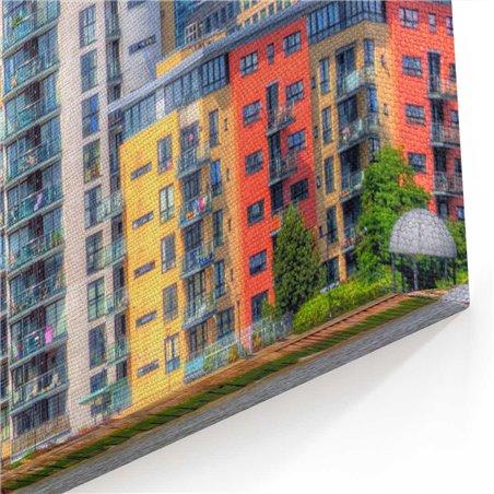 Londra Gökdölenler Kanvas Tablo