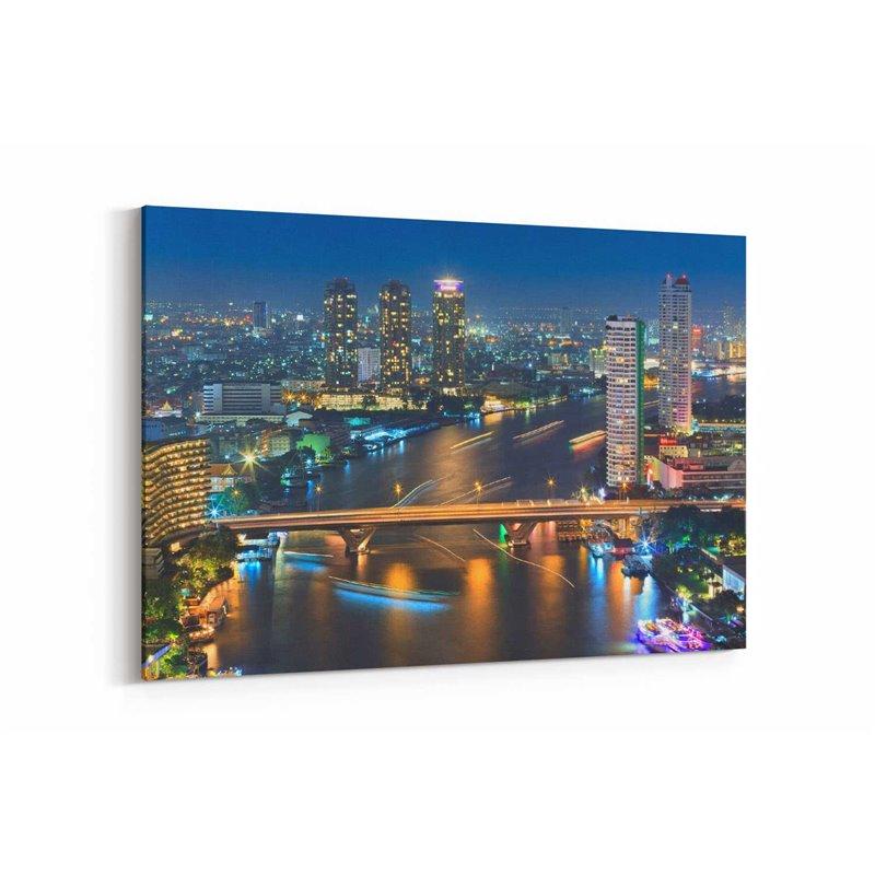 Bangkok Tayland Kanvas Tablo