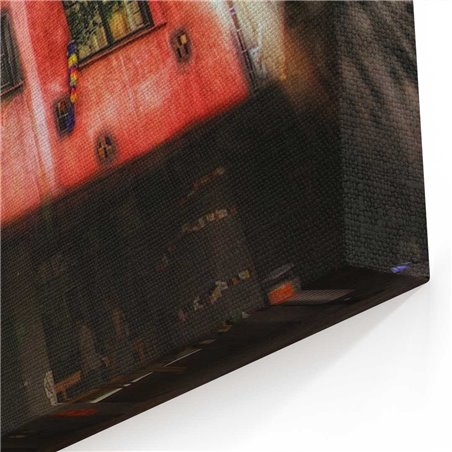 Hundertwasser  Viyana Kanvas Tablo