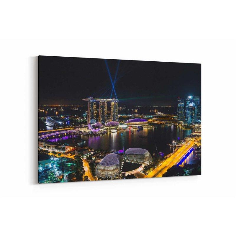 Singapur Kanvas Tablo