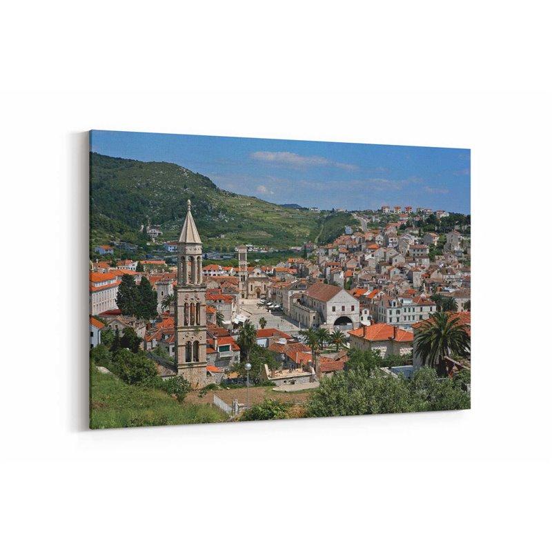 Hırvatistan Kanvas Tablo