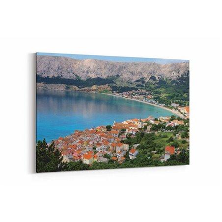 Hırvatistan Doğası Kanvas Tablo