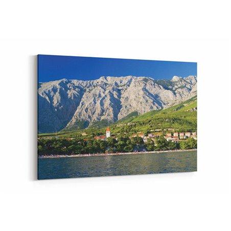 Hırvatistan Dağları Kanvas Tablo
