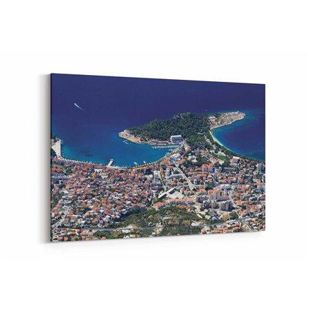 Hırvatistan Yerleşim Kanvas Tablo