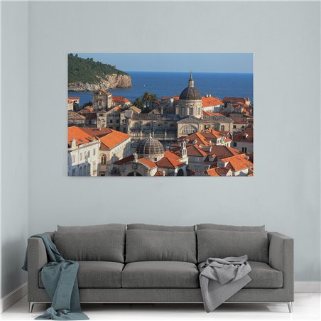 Dubrovnik Kilise Kanvas Tablo