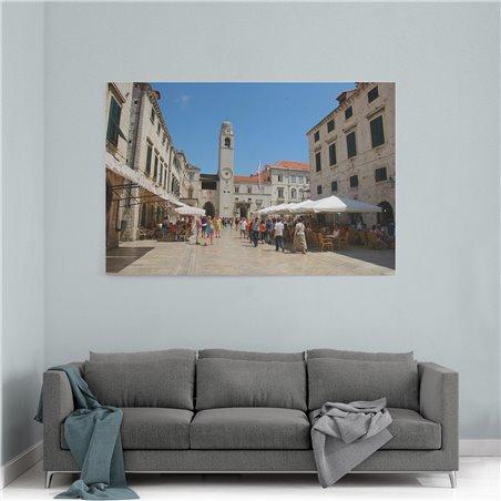 Dubrovnik Merkez Kanvas Tablo