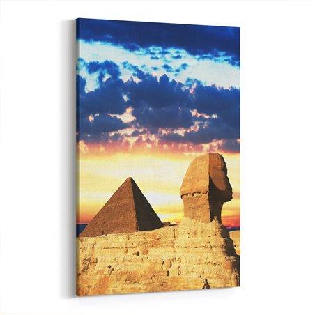Mısır Sfenks Kanvas Tablo