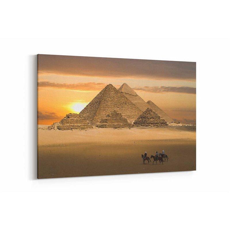 Mısır Piramitleri Kanvas Tablo