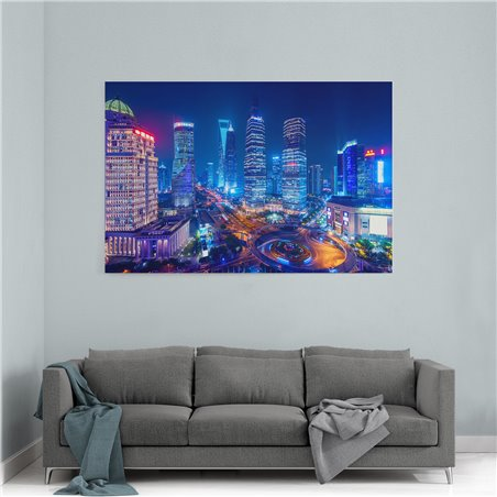 Hong Kong Kanvas Tablo