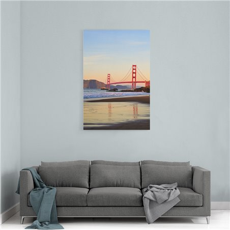 Golden Gate Bridge Kanvas Tablo