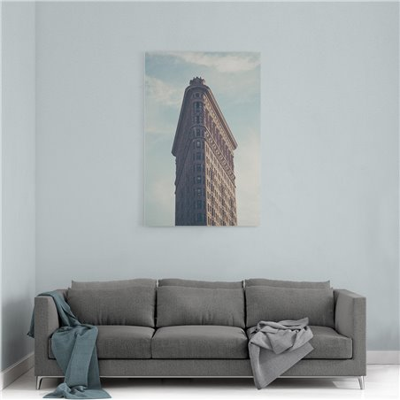 Flatiron Building New York Kanvas Tablo