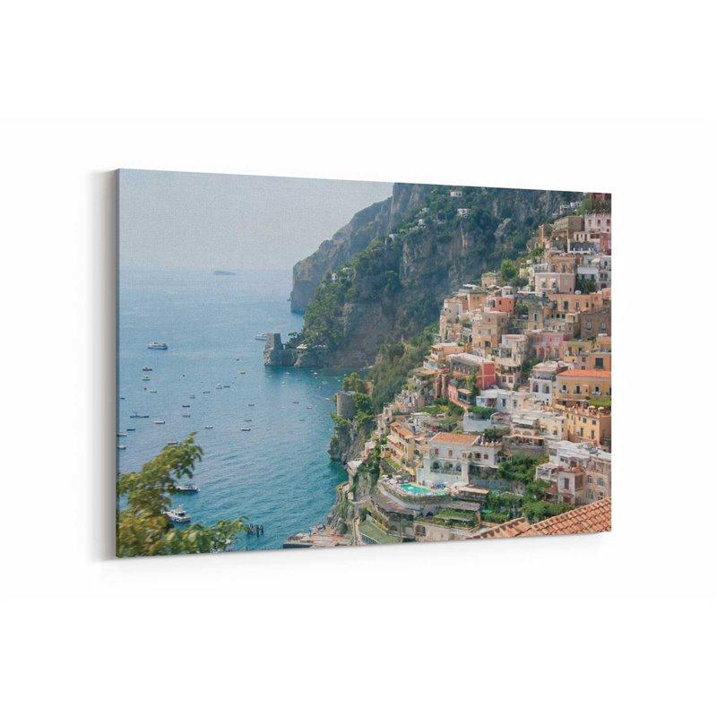 Amalfi Denizi Kanvas Tablo