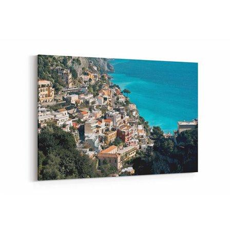 Amalfi Doğası Kanvas Tablo