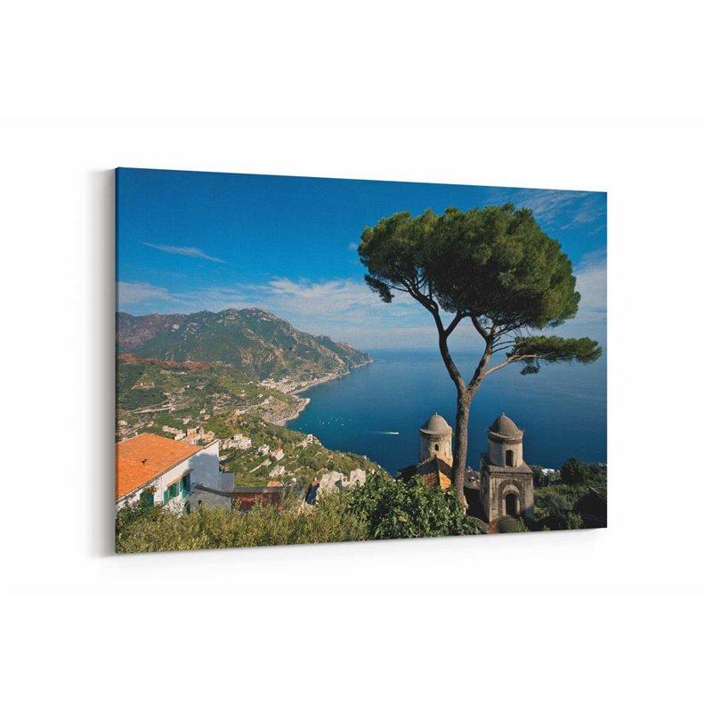 Amalfi Manzarası Kanvas Tablo