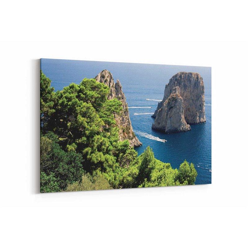 Capri Doğası Kanvas Tablo