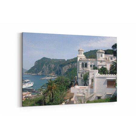 Capri Kalesi Kanvas Tablo