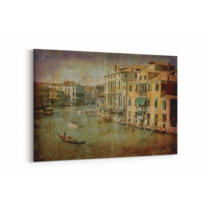 Venedik Gezisi Kanvas Tablo