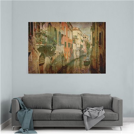 Venedik İtalya Kanvas Tablo