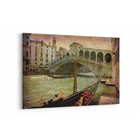 Venedik Köprüsü Kanvas Tablo