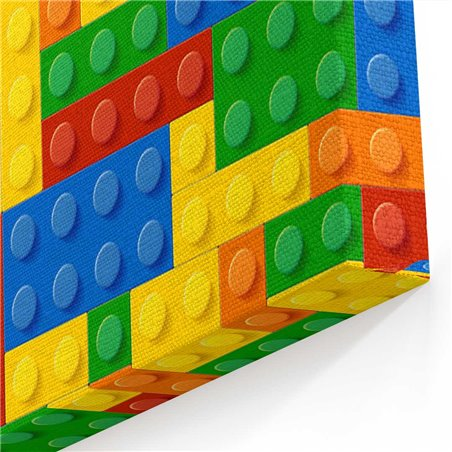Lego Çocuk Odası Kanvas Tablosu