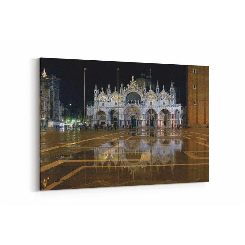 San Marco Bazilikası Venedik Kanvas Tablo