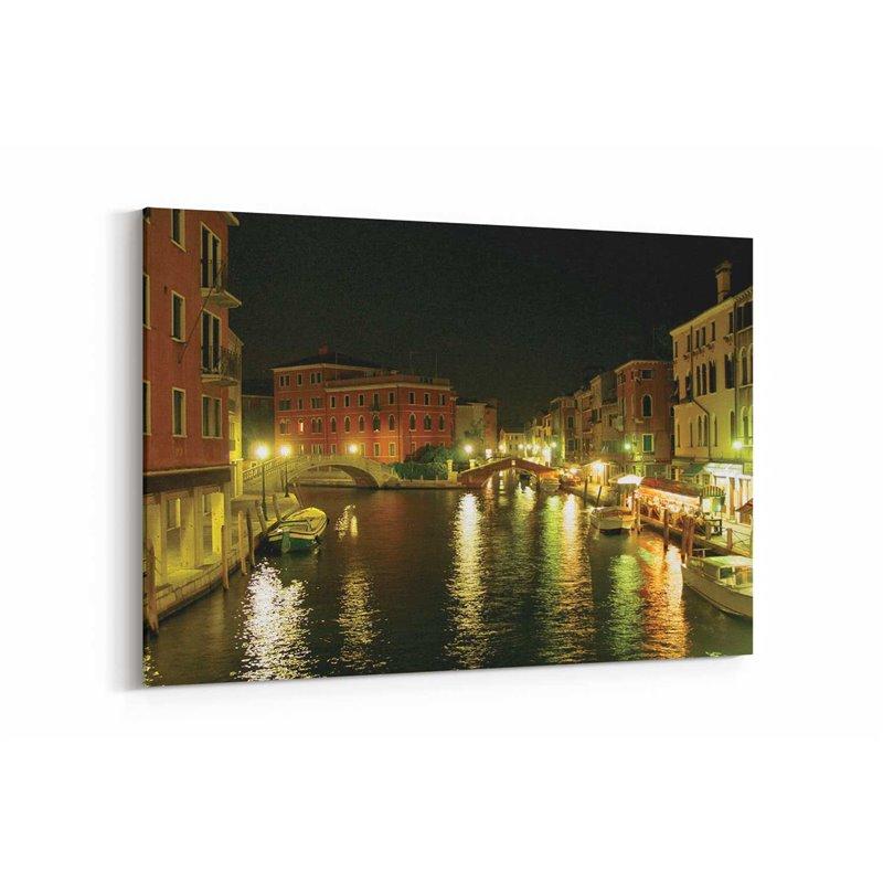 Venedik Akşamı Kanvas Tablo