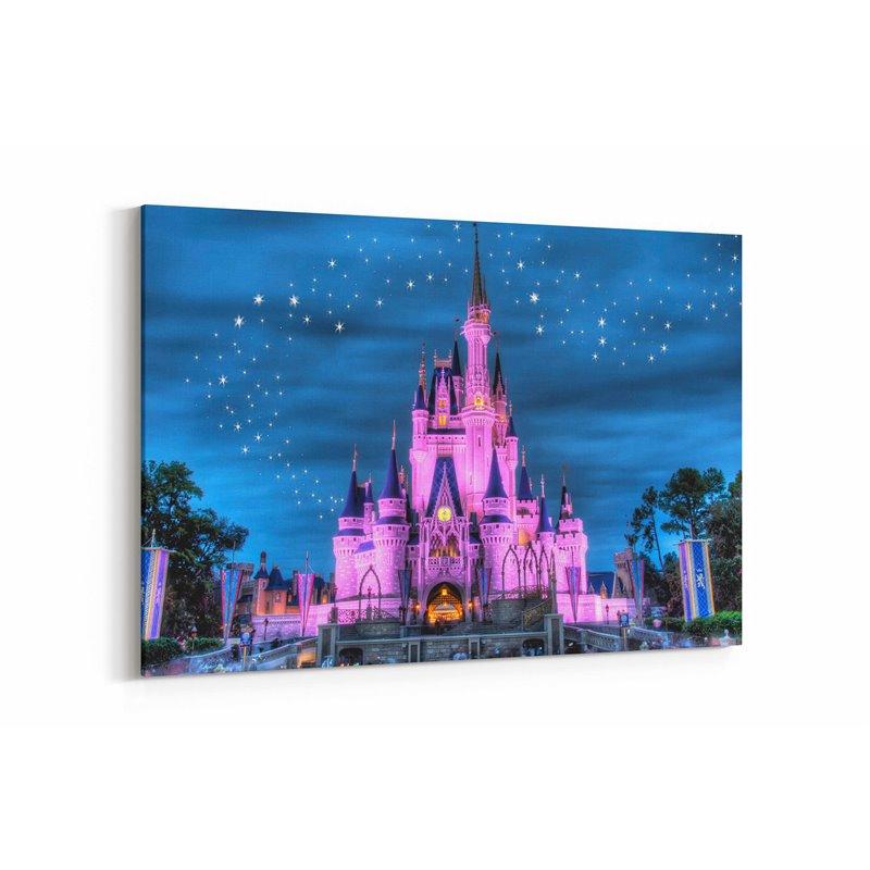 Disney Paris Çocuk Odası Kanvas Tablosu