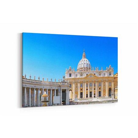 Vatikan Kanvas Tablo