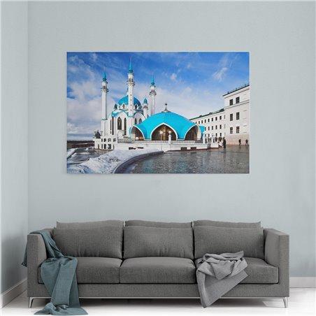 Kremlin Sarayı Karlar Altında Kanvas Tablo