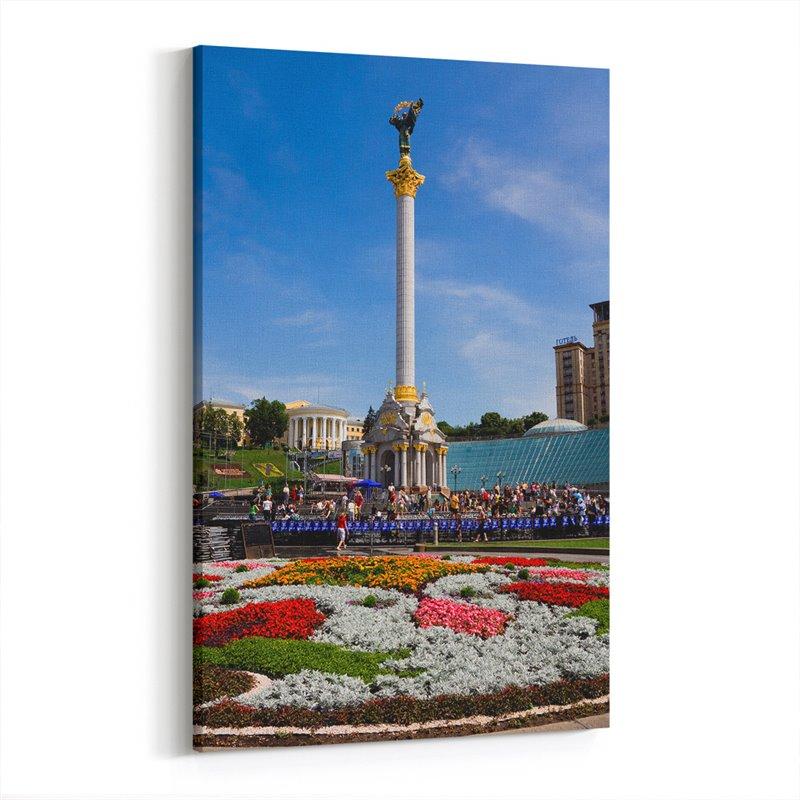 Kiev Meydanı Kanvas Tablo