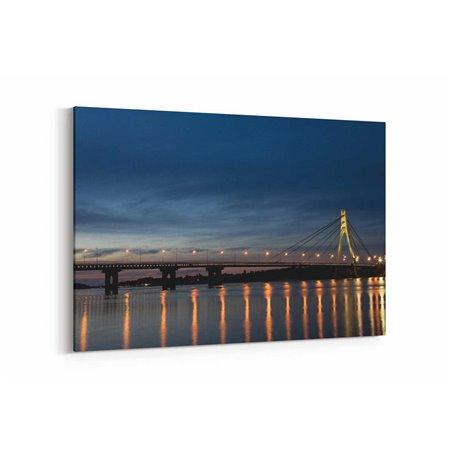 Kiev Köprüsü Kanvas Tablo