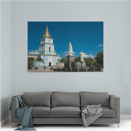 Saint Sophia Sofia Kiev Kanvas Tablo