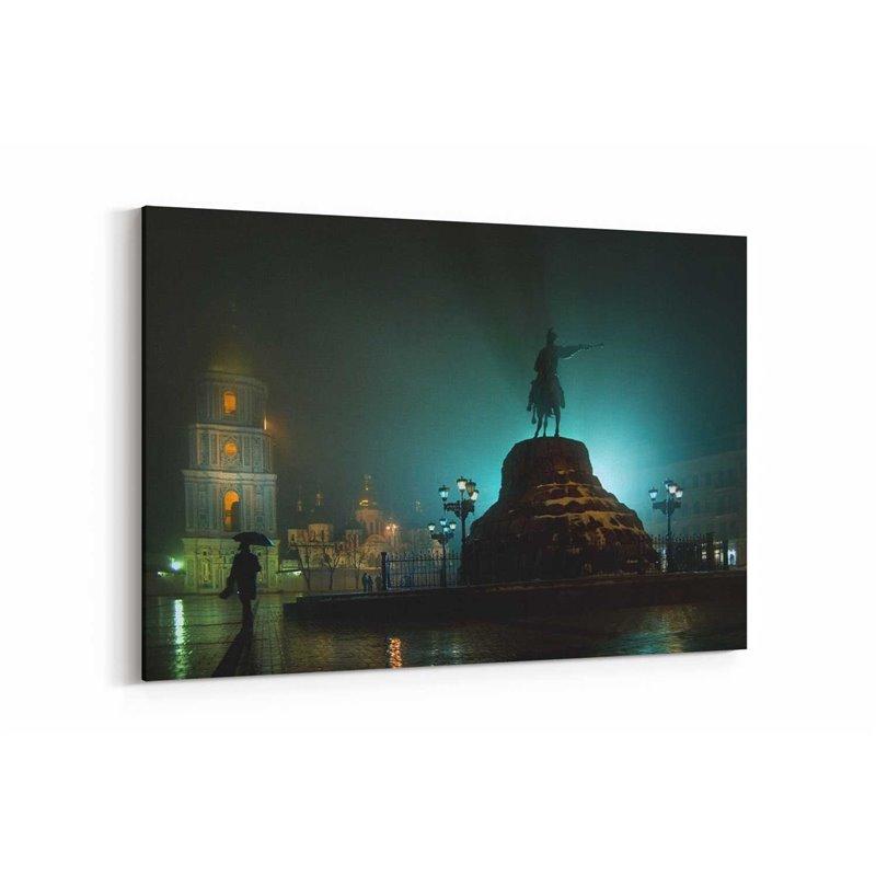 Kiev Akşamı Kanvas Tablo