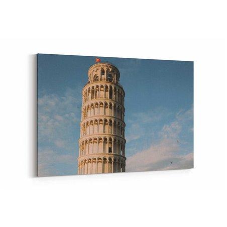 Pisa Kulesi Kanvas Tablo