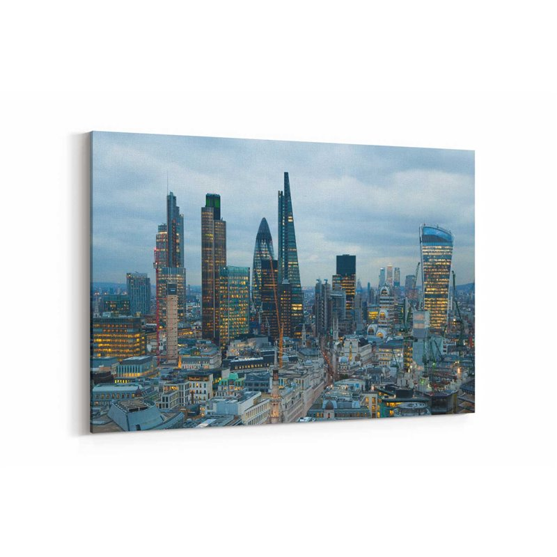 Londra Manzarası Kanvas Tablo