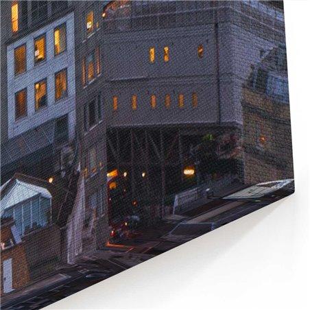 Londra Gökdelenlerinde Günbatımı Kanvas Tablo