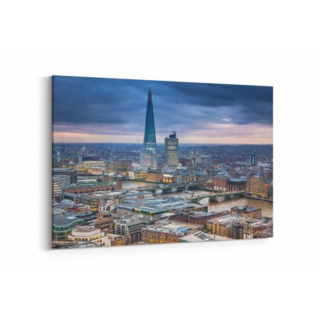 Londra Şehir Manzarası Kanvas Tablo