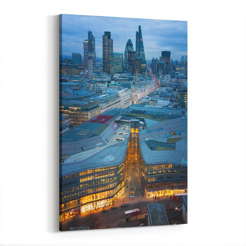 Londra İngiltere Kanvas Tablo