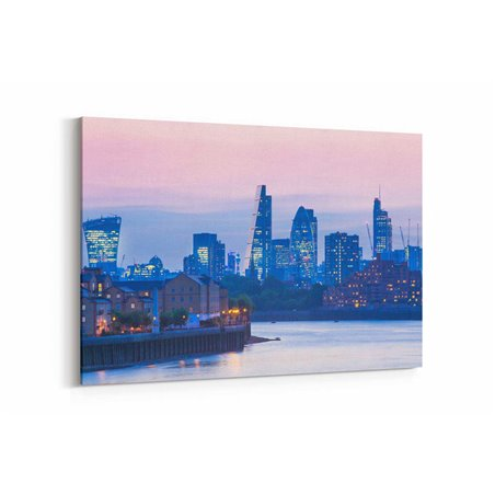 Mavi Londra Kanvas Tablo