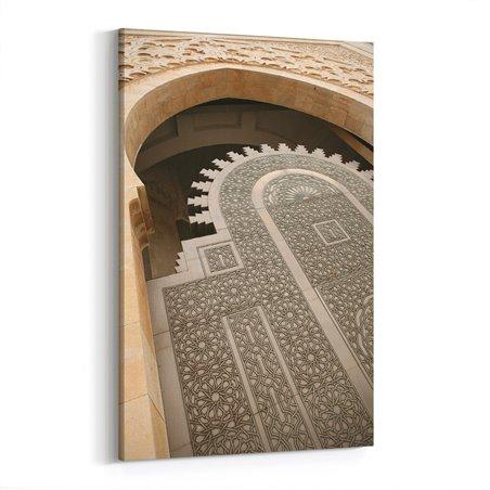 Fas Kapı Motifi Kanvas Tablo