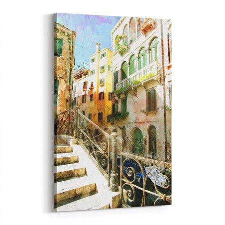 Venedik Merdivenleri Kanvas Tablo